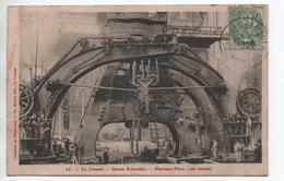 LE CREUSOT (71) - USINE SCHNEIDER - MARTEAU PILON - Le Creusot