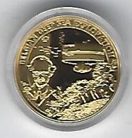 BELGIE - BELGIQUE 50€ Piccard/Bathyscaaf (LZ-G53) Gold In Box With Certificate - Belgium