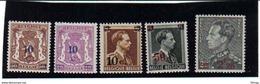 568/572 KLEIN STAATSWAPEN EN LEOPOLD III MET OPDRUK  POSTFRIS** 1941 - Belgique
