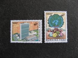 BURKINA FASO: TB Paire N° 960 Et N° 961 , Neufs XX. - Burkina Faso (1984-...)