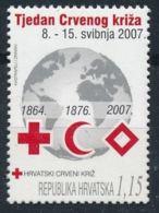 Croatie 2007 Nobel Red Cross Croix Rouge MNH - Nobel Prize Laureates