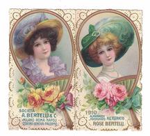CALENDARIETTO BERTELLI  ALMANACCO PROFUMATO 1910  SEMESTRINO - Calendari