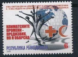 Macedoine 2008 Nobel Red Cross Croix Rouge MNH - Nobel Prize Laureates