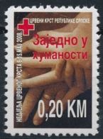 Bosnie 2008 Nobel Red Cross Croix Rouge MNH - Nobel Prize Laureates