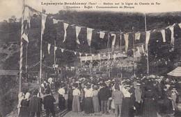 81 - LAPARAYRIE BAUDECAMY - STATION LIGNE CHEMIN DE FER - BUFFET - Autres Communes