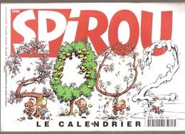 SPIROU N° 3323  Du 19-12-01 - Numéro Spécial CALENDRIER 2002 - Calendriers