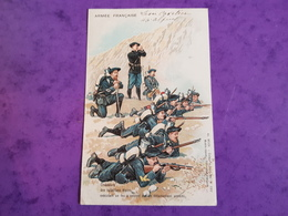 Cp ARMEE FRANCAISE BATAILLONS Léon Cavetier 46è Bataillon De Chasseurs Alpins Soigné A Saint Charles ST DIE 88 - Guerre 1914-18