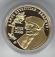 BELGIE - BELGIQUE Erasmus - 50 Euro Gold (LZ-G37) In Box With Certificate - Belgique