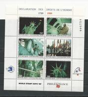 CENTRAFRIQUE  Scott 928 Yvert 808-813 ** (6) Cote 11,00 $ 1989 - Centrafricaine (République)