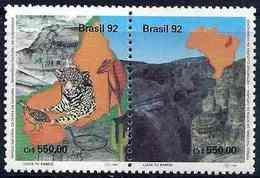 LSJP BRAZIL Serra National Park RHM 1811/2 1992 - Brazil