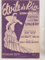 (GEO) ETOILE DE RIO ; Paroles JEAN MARIETTI , Musique WILLY  ENGEL BERGER - Scores & Partitions