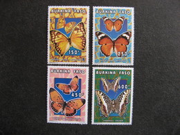 BURKINA FASO: TB  Série N° 987 Au N° 990, Neufs XX. - Burkina Faso (1984-...)