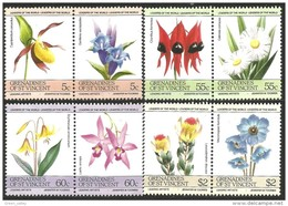 924 St Vincent Orchid Orchidee Orchidées MNH ** Neuf SC (VIN-153c) - Languages