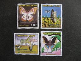 BURKINA FASO: TB  Série N° 991 Au N° 994, Neufs XX. - Burkina Faso (1984-...)