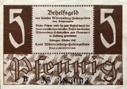 West Germany 5 Pfennig 1947 EF++, Ro.214a/FBZ-7a - [ 5] 1945-1949 : Bezetting Door De Geallieerden