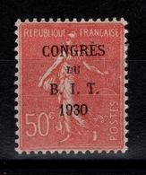 YV 264 N* Congres Du BIT - Semeuse Bien Centrée Cote 2,75+ Euros - France