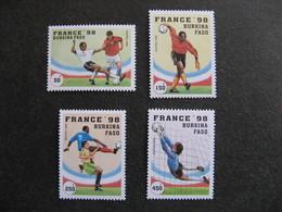 BURKINA FASO: TB  Série N° 995 Au N° 998, Neufs XX. GT. - Burkina Faso (1984-...)
