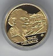 BELGIE - BELGIQUE Paul Delvaux - 50 Euro Gold In Box With Certificate - Belgique