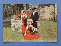 Cartolina Costumi - Valle D'Aosta - Costume Di Gressoney - 1960 - Cartoline