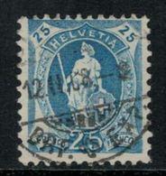 Suisse // Schweiz // Switzerland // Helvétie Debout // Helvétie Debout No. Zumstein 93B - 1882-1906 Wappen, Stehende Helvetia & UPU