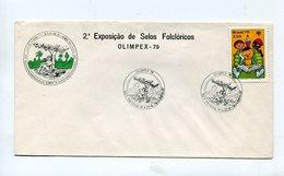 SOBRE 2° EXPOSIÇAO DE SELOS FOLCLORICOS OLIMPEX 79 MATASELLO 1979 OLIMPIA BRASIL -LILHU - Music