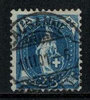Suisse // Schweiz // Switzerland // Helvétie Debout // Helvétie Debout No. Zumstein 73D - 1882-1906 Wappen, Stehende Helvetia & UPU