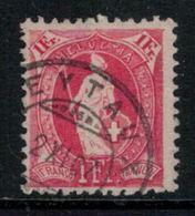 Suisse // Schweiz // Switzerland // Helvétie Debout // Helvétie Debout No. Zumstein 91C - 1882-1906 Wappen, Stehende Helvetia & UPU
