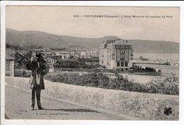 Cpa Carte Postale Ancienne - ESPANA / PAIS VASCO / FONTARABIE ( FUENTARRABIA ) / L' HÔTEL MIRAMAR ET QUARTIER DU PORT - Guipúzcoa (San Sebastián)
