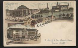 DENMARK - COPENHAGEN - Hilsen Fra København  - Greetings From Copenhagen Postcard -VINTAGE POSTCARD (APAT#89) - Danemark