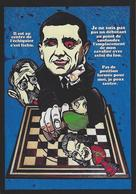 CPM Echecs Chess Jihel Tirage Signé 30 Exemplaires Numérotés Signés Napoléon - Chess