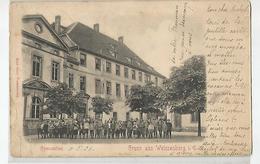 67 Bas Rhin - Gruss Aus Weissenburg ( Wissembourg ) Gymnasium Animée 1906 - 2scans - Wissembourg