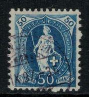 Suisse // Schweiz // Switzerland // Helvétie Debout // Helvétie Debout No. Zumstein 70D - 1882-1906 Wappen, Stehende Helvetia & UPU