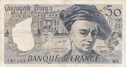 50 Francs QUENTIN DE LA TOUR - Type 1977. - 1962-1997 ''Francs''