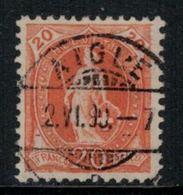 Suisse // Schweiz // Switzerland // Helvétie Debout // Helvétie Debout No. Zumstein 66C - 1882-1906 Wappen, Stehende Helvetia & UPU