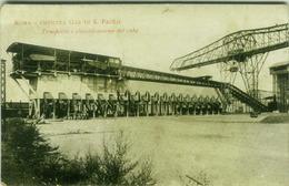 ROMA - OFFICINA GAS DI S. PAOLO - TRASPORTO E CLASSIFICAZIONE DEL COKE - 1918 (2602) - Roma
