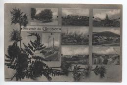 LE CREUSOT (71) - SOUVENIR - Le Creusot
