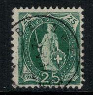 Suisse // Schweiz // Switzerland // Helvétie Debout // Helvétie Debout No. Zumstein 67C - 1882-1906 Wappen, Stehende Helvetia & UPU