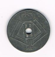 &  LEOPOLD  III  10 CENTIEM  1943  VL/FR - 02. 10 Centimes