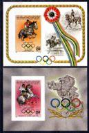 28.7.1984; Jeux Olympique Los Angeles, YT BF 66 + 67 Non Dentelé!, Neuf **, Lot 50530 - Libya