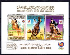 17.9.1988, Olympische Sommerspiele In Seoul, Mi-Block 117 A, Neu **, Los 50524 - Estate 1988: Seul