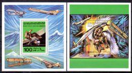 6.12.1978; Histoire De L'Aviation, YT BF 27 + 28, Neuf **, Lot 50525 - Libya