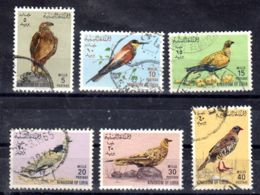 10.2.1965; Oiseaux De Libye; YT 255 - 260, Oblitéré, Lot 50536 - Libya