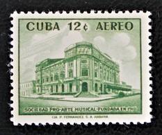 SOCIETE ART MUSICAL 1959 - NEUF * - YT PA 199 - MI 632 - Airmail