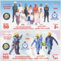Ref. 171751 * NEW *  - OMAN . 2005. CIVIL DEFENSE. DEFENSA CIVIL - Omán