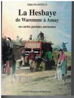 LA HESBAYE DE WAREMME A AMAY  En Cartes Postales Anciennes Par Edith Plomteux - Kultur