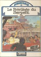 JONATHAN Tome 8 Le Privilège Du Serpent Par Cosey De 1982 EO De Chez Lombard - Jonathan Cartland