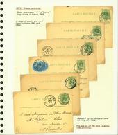Belgique 1884 - Lot EP (6G23184) DC0669 - Stamped Stationery