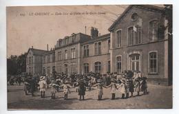 LE CREUSOT (71) - ECOLE LIBRE DE FILLES DE LA CROIX MENEE (ETAT) - Le Creusot