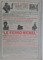 PUB 1902 - Mécanique Vallotton Lyon, Ferro-Nickel Papier Astruc La Varenne St Hilaire Peinture, Poteaux Télégraph Le Muy - Advertising