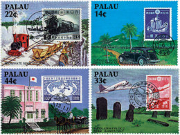 Ref. 56817 * NEW *  - PALAU . 1987. HISTORY OF THE POST WITH JAPAN. HISTORIA DEL CORREO CON JAPON - Palau